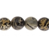 Artistic Stone 10mm Round 17pcs Approx